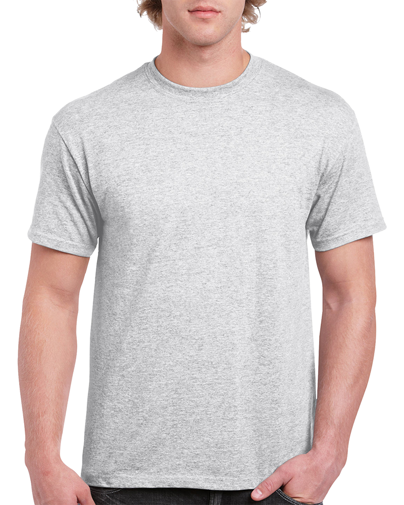 Custom Ash Grey T-shirt Printing
