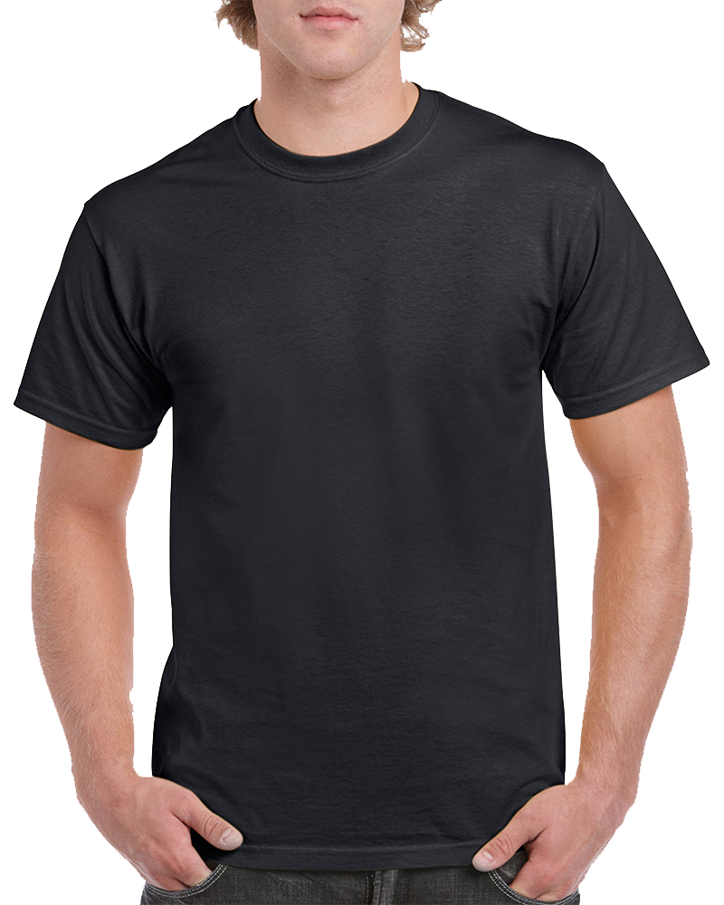 Custom Black T-Shirt Printing