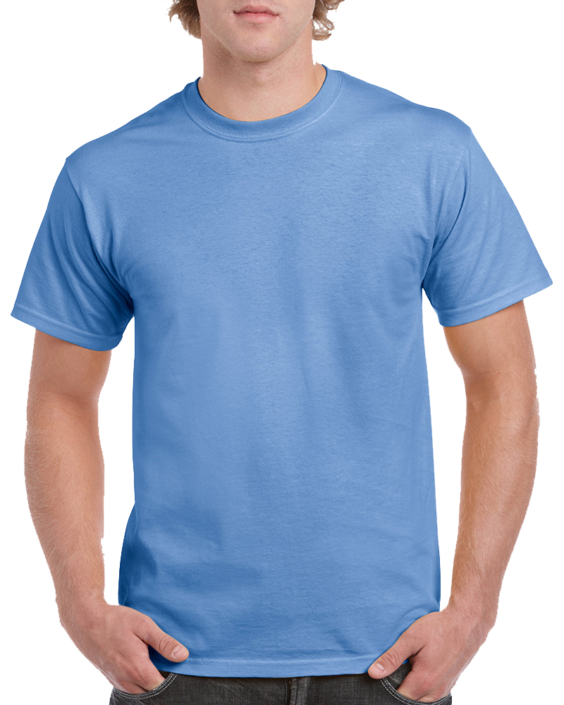 Custom Baby Blue T-shirt Printing