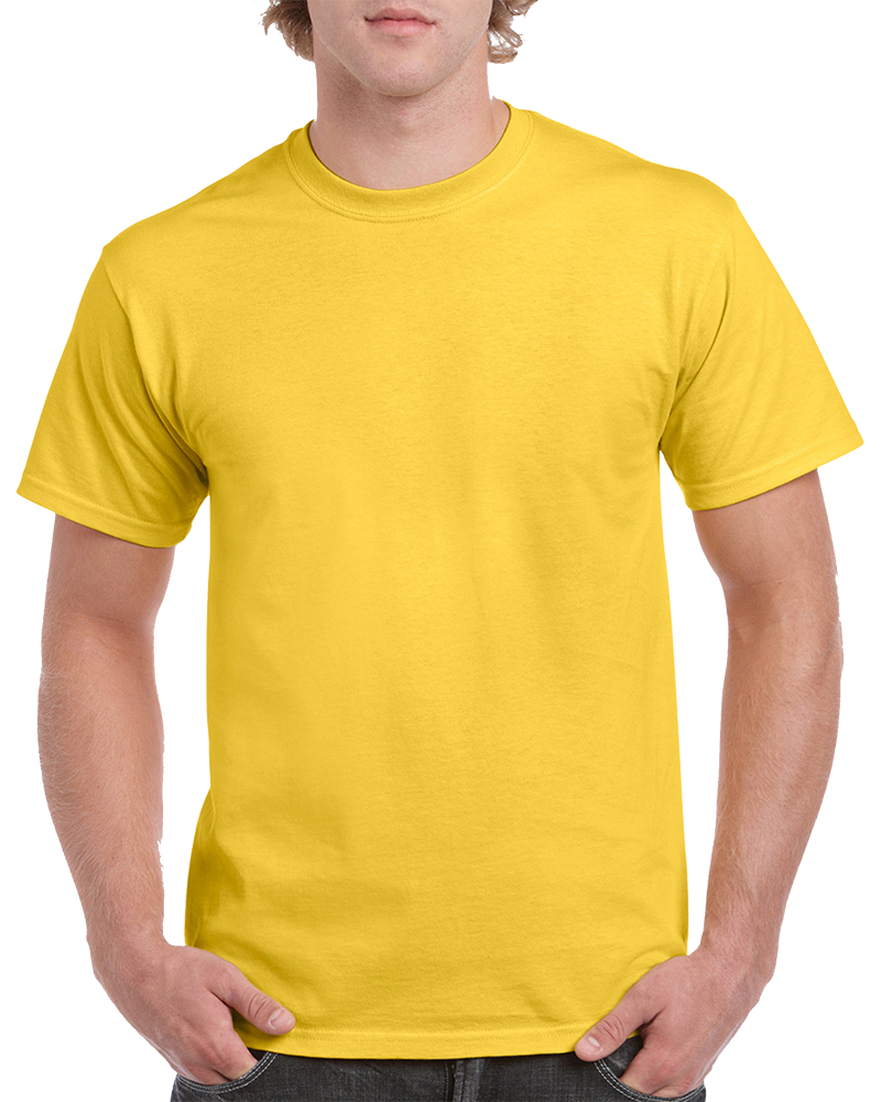Custom Bright Yellow T-shirt Printing