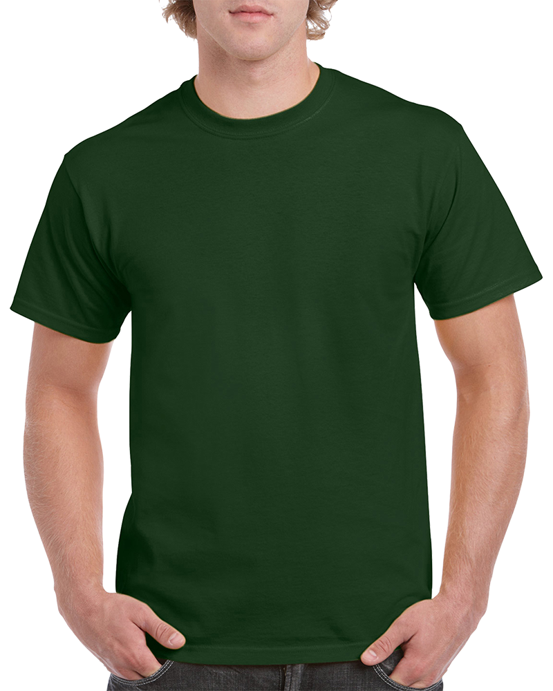 Custom Forest Green T-shirt Printing