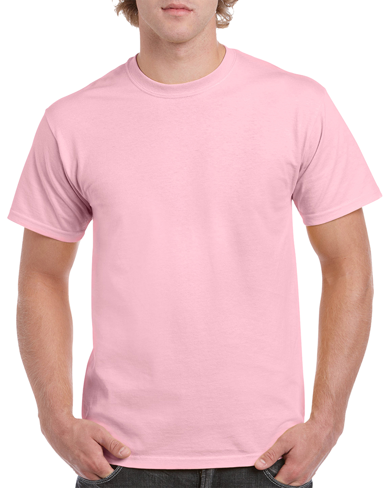 Custom Light Pink T-shirt Printing