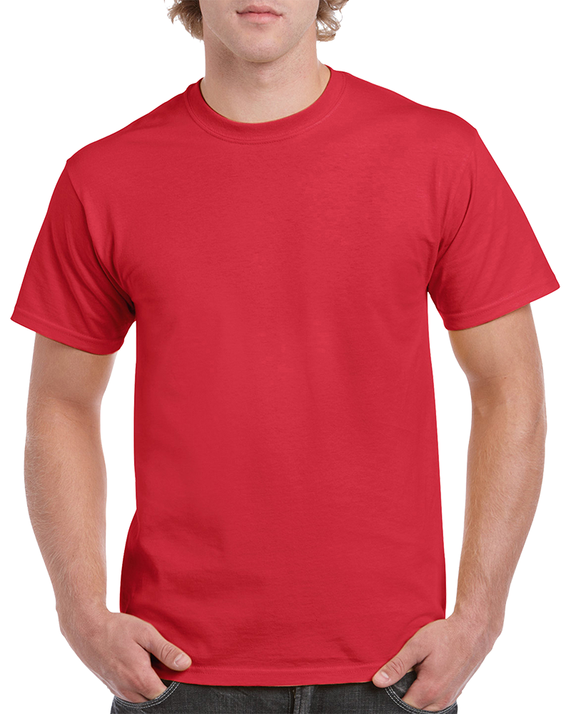 Custom Red T-shirt Printing