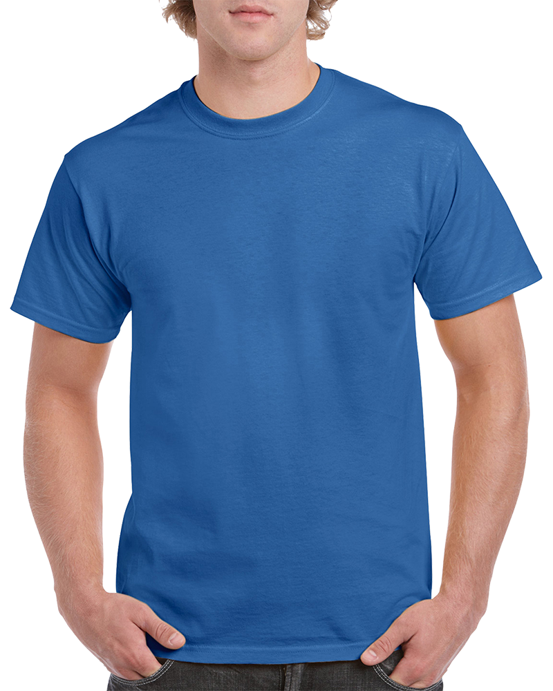 Custom Blue T-shirt Printing