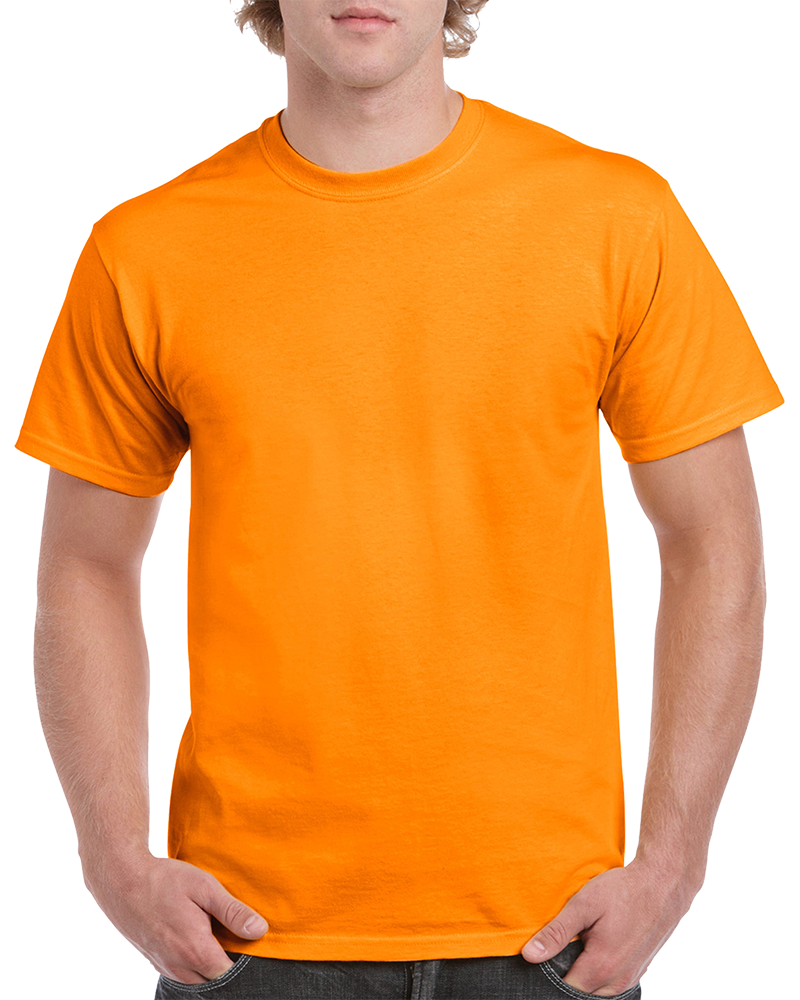 Custom Light Orange T-Shirt Printing